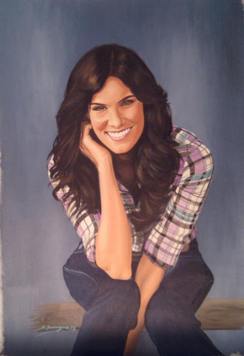 Daniela Ruah by wisewyn
